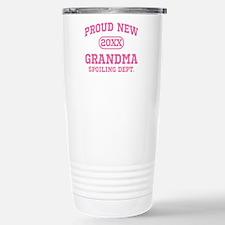 Proud New Grandma Personalized Travel Mug