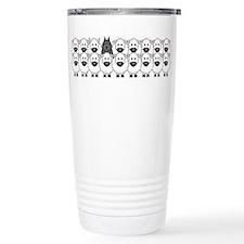 Unique Bouvier Travel Mug