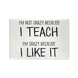 Funny teacher Magnets