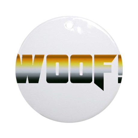 BOLD WOOF Ornament (Round)