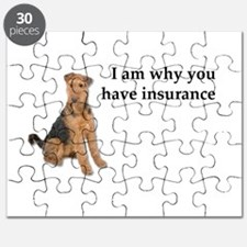 Insurance Airedale Puzzle