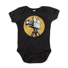 Cute Vintage movie Baby Bodysuit
