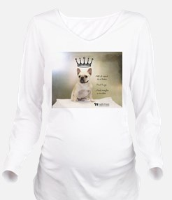 Charity Long Sleeve Maternity T-Shirt