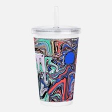 Love Acrylic Double-wall Tumbler