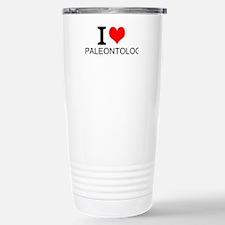 I Love Paleontology Travel Mug