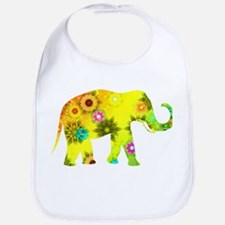 Cute Elephants Bib