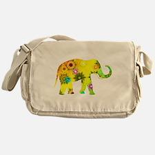 Funny Elephant Messenger Bag