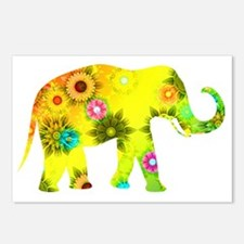 Funny Elephants Postcards (Package of 8)