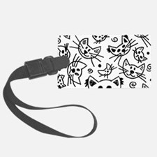 Doodle Cats Luggage Tag