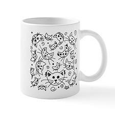 Doodle Cats Mugs