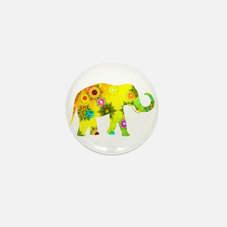 Cute Childrens yellow Mini Button
