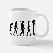 Evolution Cameraman Mug