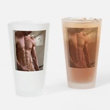 Unique Sexy man Drinking Glass