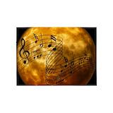 Music 5x7 Rugs