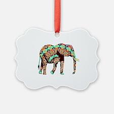 Cute Asian elephant Ornament