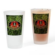 I Love Nashville-04 Drinking Glass
