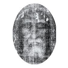 Shroud of Turin Oval Ornament