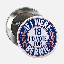 """Unique Sanders 2.25"""" Button"""