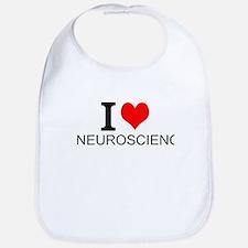 I Love Neuroscience Bib