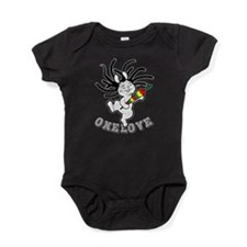 Funny Music band Baby Bodysuit