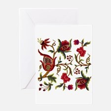 Princess Anne Embroidery Greeting Card
