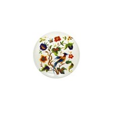 Bird of Paradise Embroidery Mini Button (10 pack)