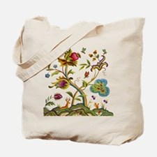 Tree of Life Embroidery Tote Bag