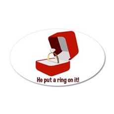 Put Ring On It Wall Decal