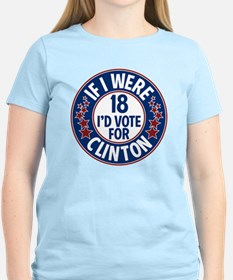 If I were 18, I'd Vote for C T-Shirt
