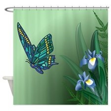 Unique Irises Shower Curtain