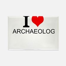 I Love Archaeology Magnets