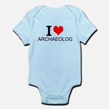 I Love Archaeology Body Suit
