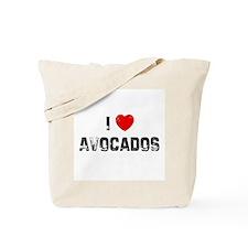 I * Avocados Tote Bag