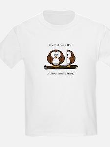 Owls A Hoot and a Half T-Shirt