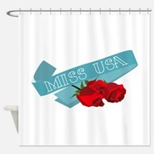 Miss USA Shower Curtain