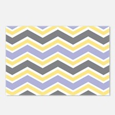 Chevron Stripes Postcards (Package of 8)