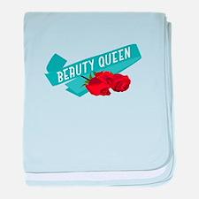 Beauty Queen baby blanket
