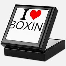 I Love Boxing Keepsake Box
