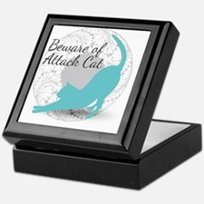 Attack Cat Keepsake Box