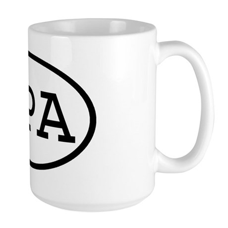 IPA Oval Large Mug