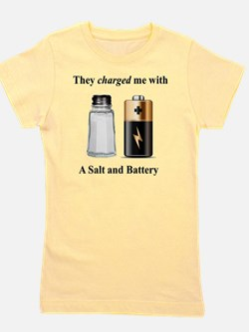 Salt Battery Girl's Tee