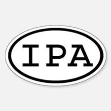 IPA Oval Oval Decal