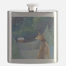 Unique Italian christmas Flask