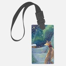 Funny Whippet Luggage Tag