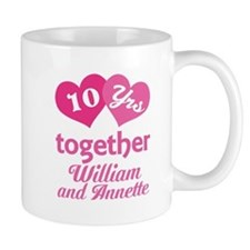 Personalized Anniversary Gift Mugs