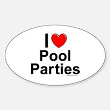 Pool Parties Decal