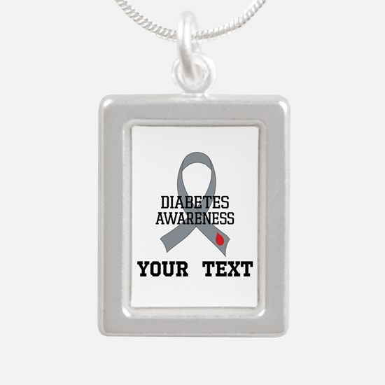 Diabetes Awareness Personalized Necklaces