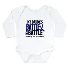 Funny Childhood cancer awareness month Long Sleeve Infant Bodysuit