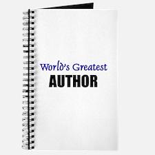 Worlds Greatest AUTHOR Journal