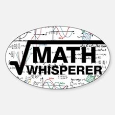 math whisperer Decal
